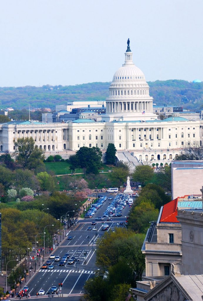 U.S. Capitol in Washington DC. Contact us to get a DC Virtual Office address near the Capitol.